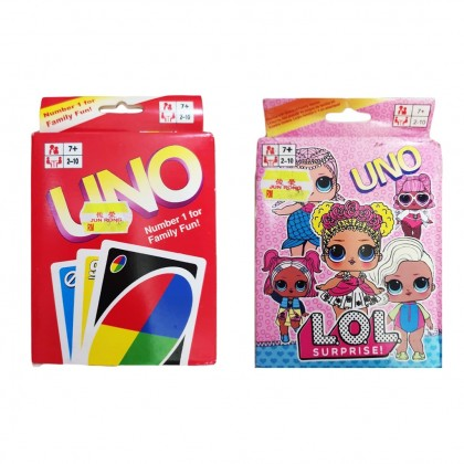 【Ready Stock】UNO Multiplayer Card Game For Kids Family